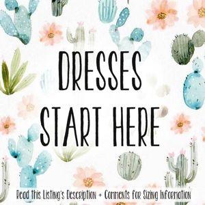 🌵VINTAGE DRESSES START HERE🌵